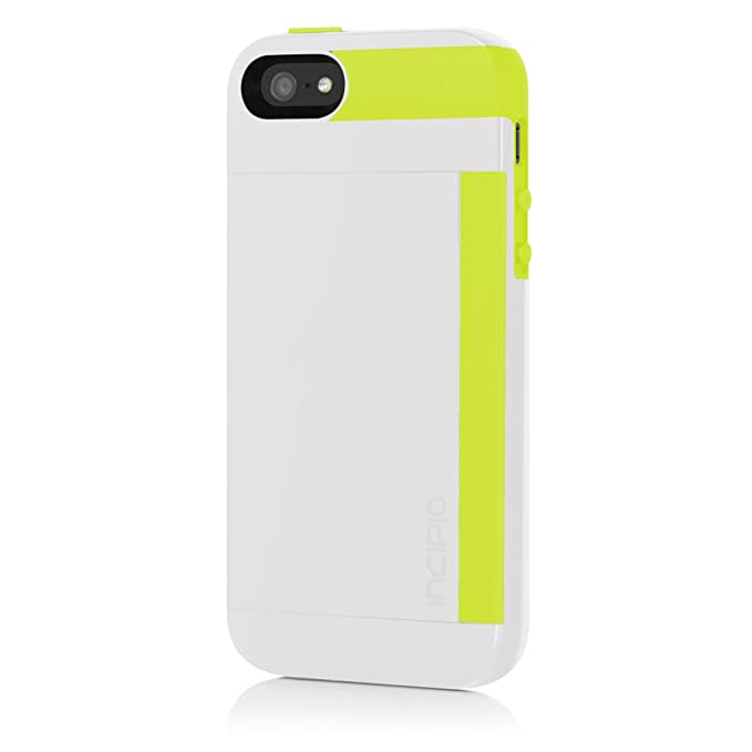 newest 5b1b8 43c63 Amazon.com: Incipio Stowaway Case for iPhone 5S - Retail Packaging ...