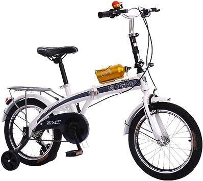 WY-Tong Bicicleta Infantil Bicicletas Infantiles Niño y niña Coche ...