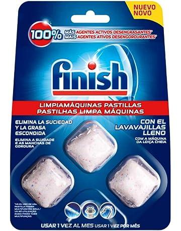 Finish Limpiamáquinas en Pastillas para Lavavajillas - 3 Unidades ...