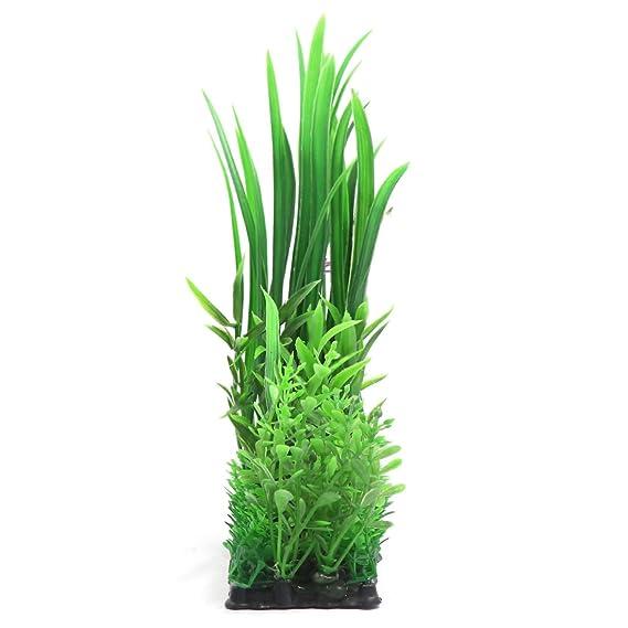 uxcell - Planta plástica Decorativa para Acuario de Peces Betta, Verde: Amazon.es: Productos para mascotas