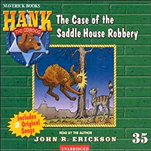 The Case of the Saddle House Robbery Audiobook