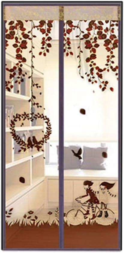 90 x 210cm, braun AIU Insektenschutz Sommer Moskitonetz Fliegengitter Magnetvorhang Fliegenvorhang