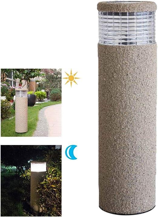 Sentier - Farol solar de arena con luz a la luz de césped LED para jardín, jardín, patio, patio trasero: Amazon.es: Amazon.es