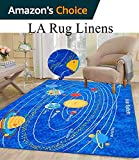 5x7 Kids Boys Children Toddler Playroom Rug Nursery Room Rug Bedroom Rug Fun Colorful ( Solar System )