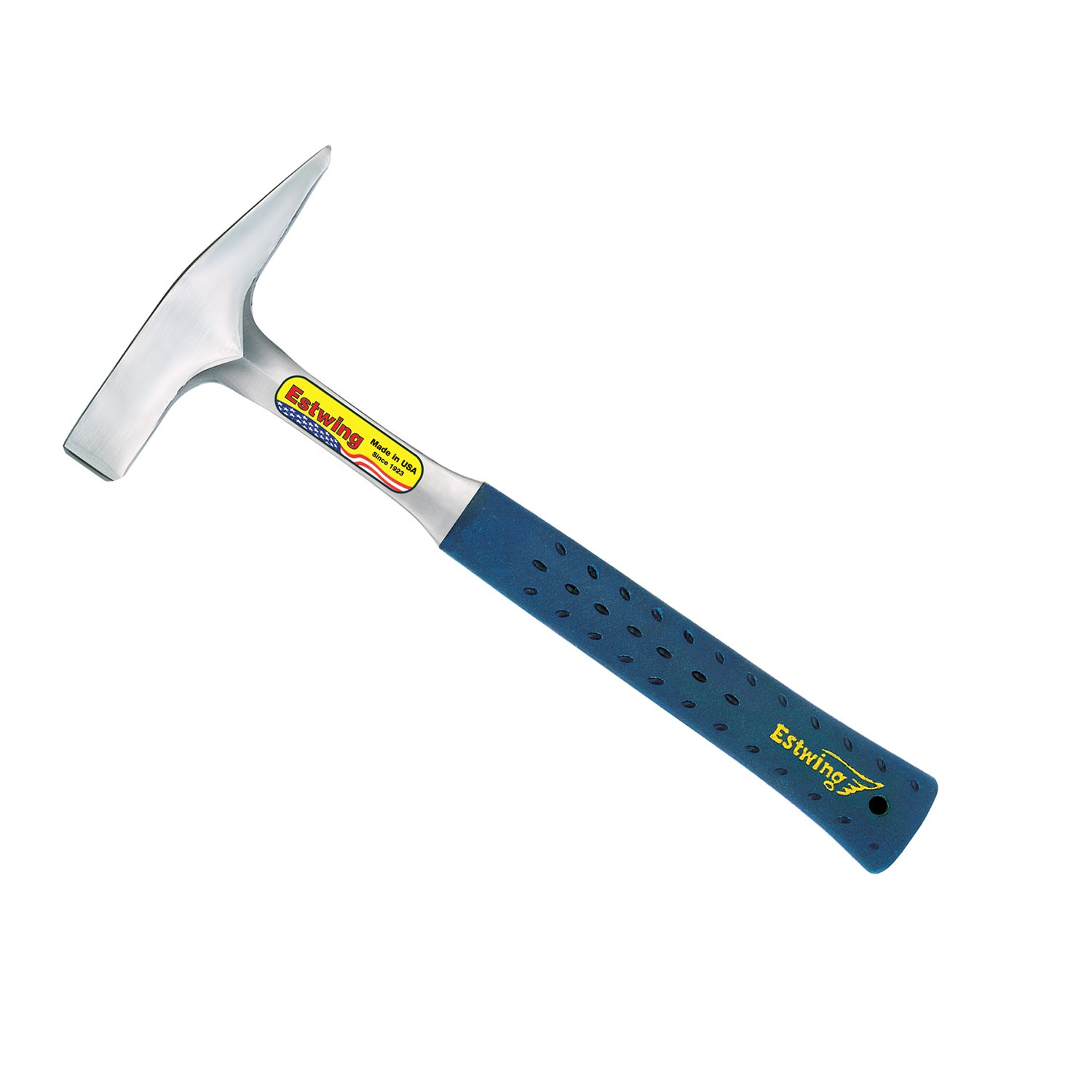 Estwing Tinner's Hammer - 12 oz Metalworking Tool with Forged Steel Construction & Shock Reduction Grip - T3-12