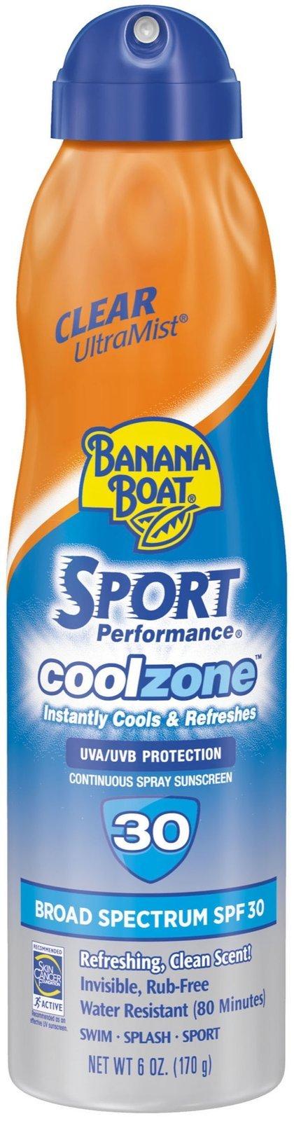 Banana Boat Sport Performance Coolzone SPF 30 - 6 oz