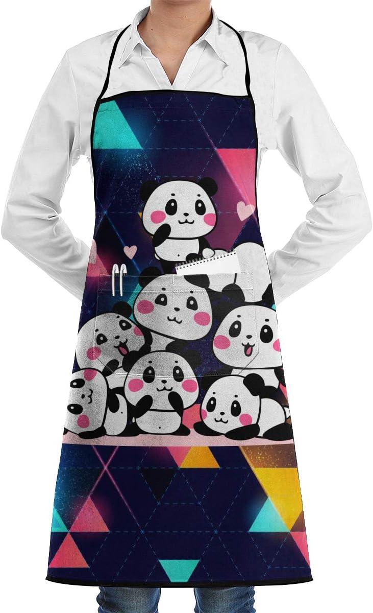 JOJOshop Delantales Divertidos con diseño de Panda Jenga, para cocinar, Hornear, jardinería, Servir, Limpieza, Pintura y Muchos más: Amazon.es: Hogar
