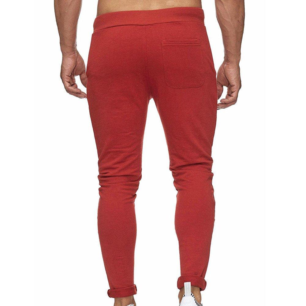 Casual Slim fit Jogger Pants with Pocket Dri-Power Closed Cargo Trousers Pants Sweatpants Mens Cargo Pants