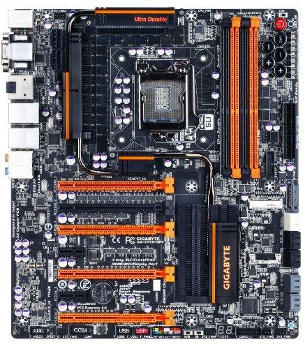 Gigabyte Sata Controller (Gigabyte LGA 1155 DDR3 2400 Intel Z77 HDMI SATA 6Gb/s USB 3.0 Extended ATX Motherboard GA-Z77X-UP7)