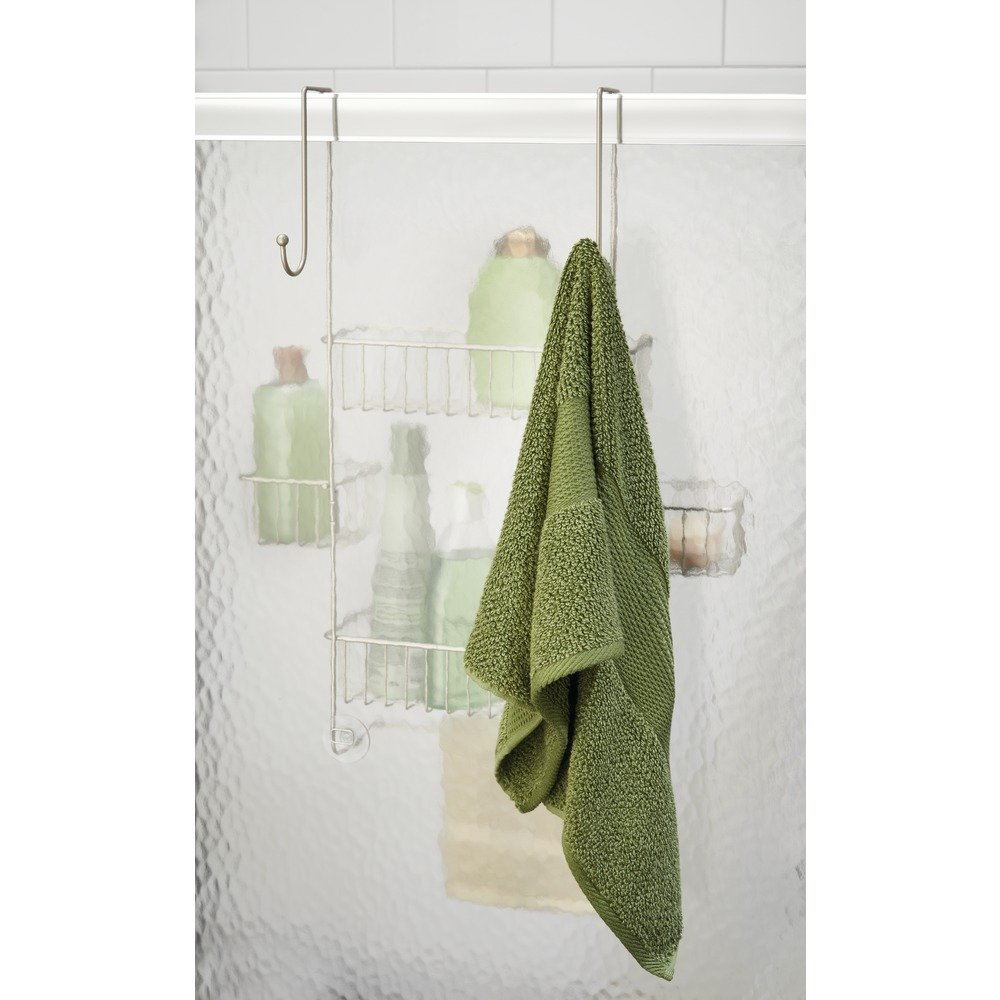Amazon.com: InterDesign Metalo Bathroom Over Door Shower Caddy for ...