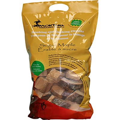 Montana Grilling Gear Smoking and Cooking Wood Chunks – 100% Organic and Pesticide Free - Safe for Grills and Smokers