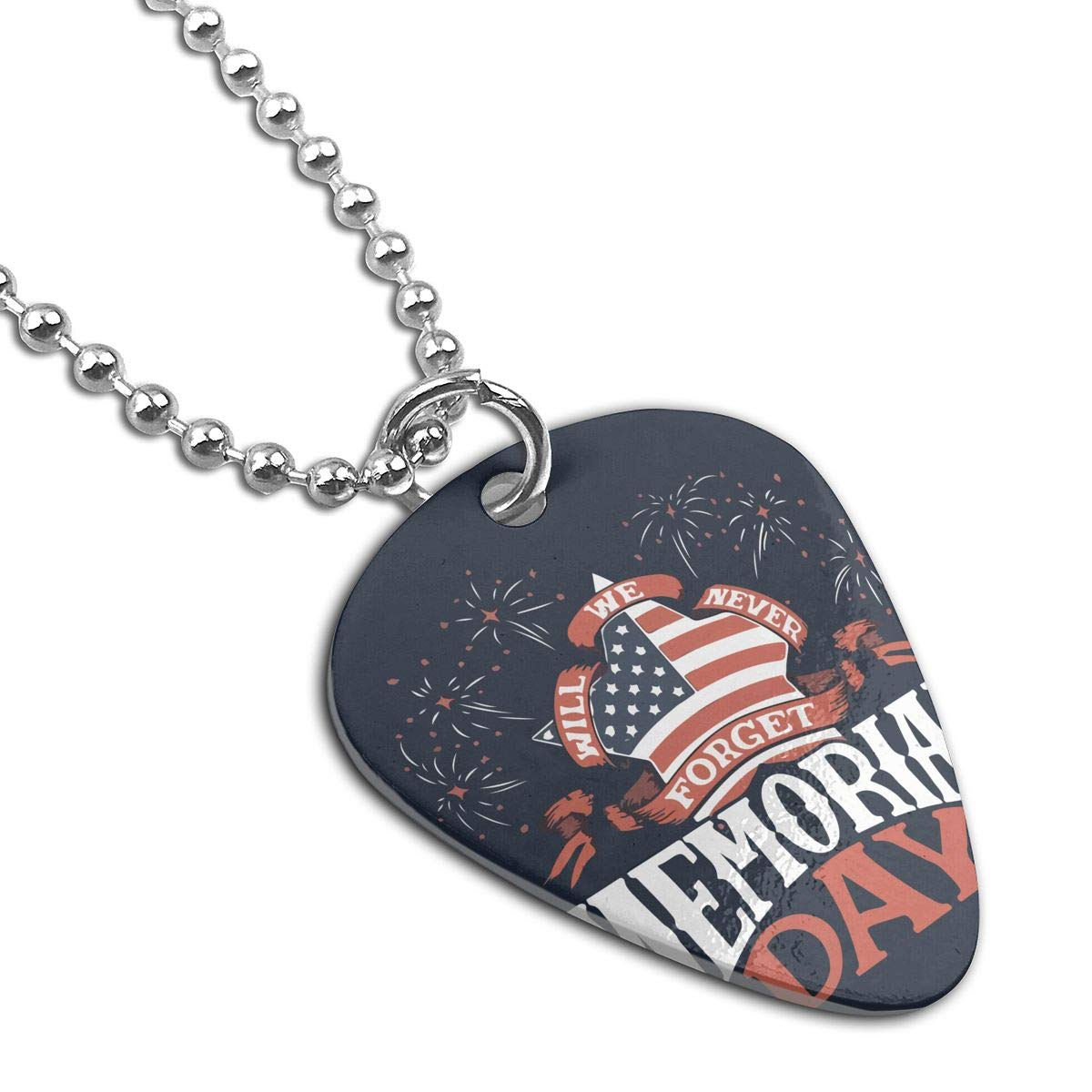 Custom Filipino America Flag Military Army Pendant Tag Necklace Guitar Picks For Mens Pets