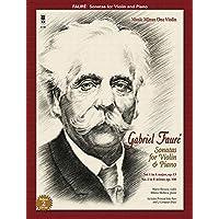 Faure: Sonatas for Violin and Piano: Book/2-CD Pack