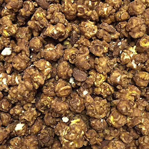 Gourmet Popcorn - Ready to Eat - More than 50 Flavors to Choose From (Heath Toffee Almond, Large - 42 Cups)
