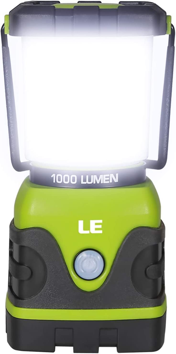 Emergency Kit Camp DOZAWA LED Camping Lantern Emergency Lantern Battery Powered with 1000LM Waterproof Tent Light,Perfect for Hurricane