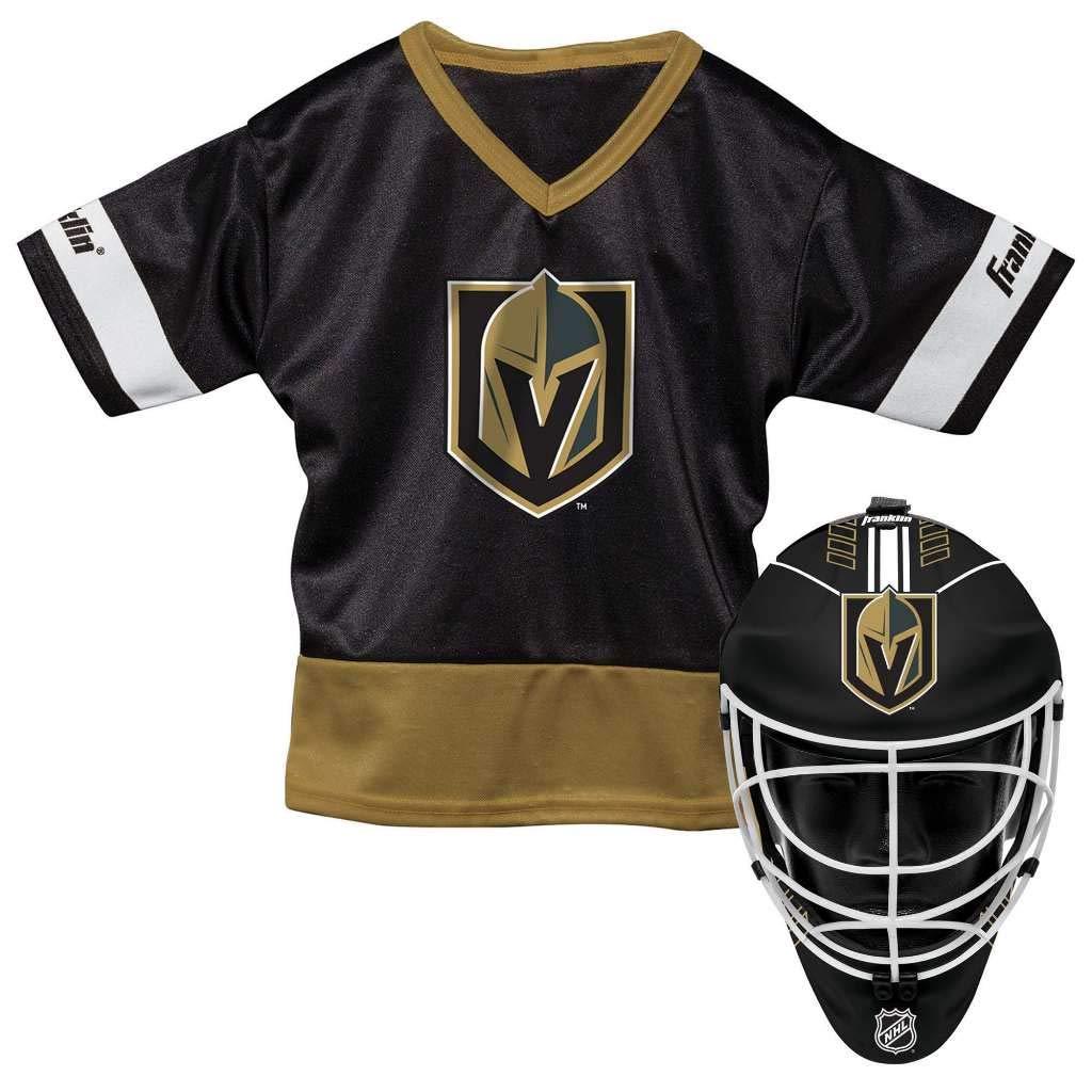 c27be189d75 Franklin Sports NHL Vegas Golden Knights Youth Team Uniform Set ...