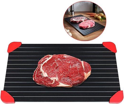 Bandeja para descongelar alimentos congelados, carne, comida ...