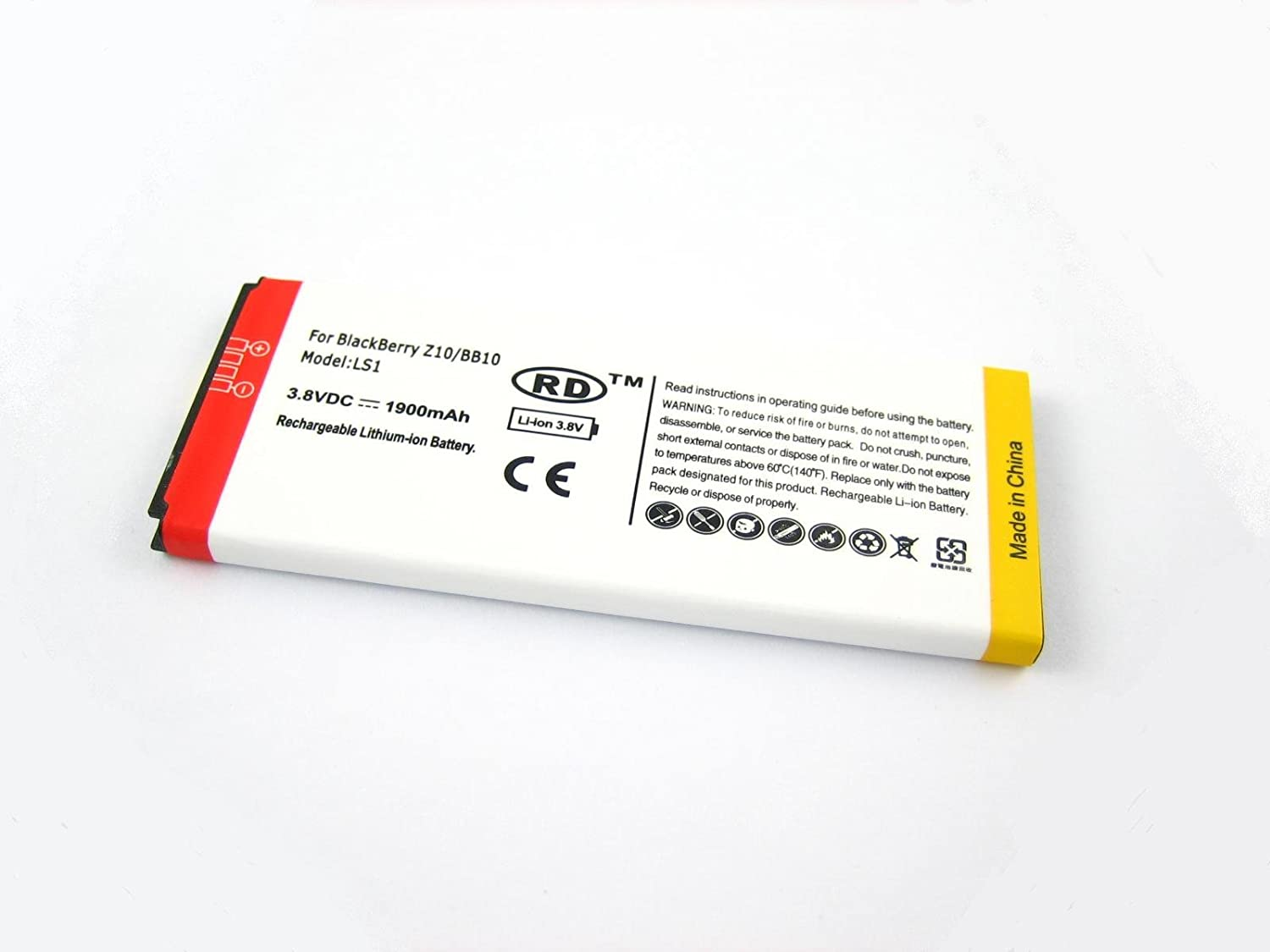 LS1 for BlackBerry Z10 / BB10 ~ High Capacity Battery SPARE REPLACE