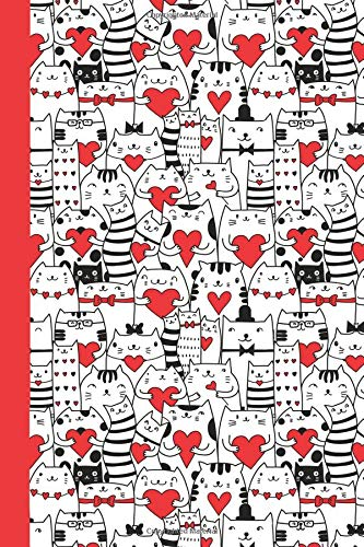 Sketchbook: Cats and Valentines 6x9 - BLANK JOURNAL WITH NO LINES - Journal notebook with unlined pages for drawing and writing on blank paper (Cats & Kittens Sketchbook Series) Paperback – January 19, 2018 Premise Content 1984017780 NON-CLASSIFIABLE S
