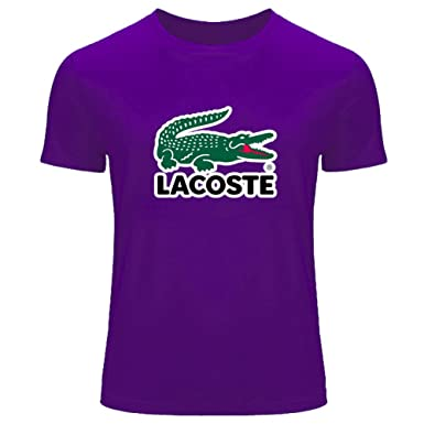 Logo Shirt Printing co Outlet Men's Amazon uk Tee T Lacoste For O4dZaHOBq