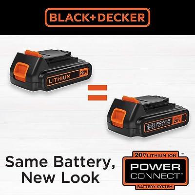 BLACK+DECKER 20V MAX Cordless Drill Driver with 30-Piece Accessories LD120VA