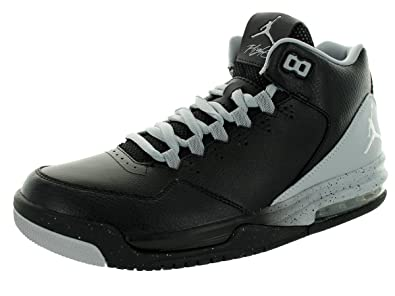 eea872b4a0ac56 Jordan Nike Men s Flight Origin 2 Black White Wolf Grey Basketball Shoe 15  Men
