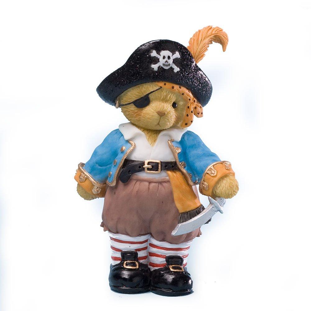 Enesco Cherished Teddies Collection Dressed Pirate Boy Figurine
