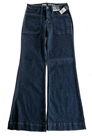 fc5bc91863e Mossimo Women s High-Rise Wide Leg Jeans Dark Wash (4 27 R) at ...