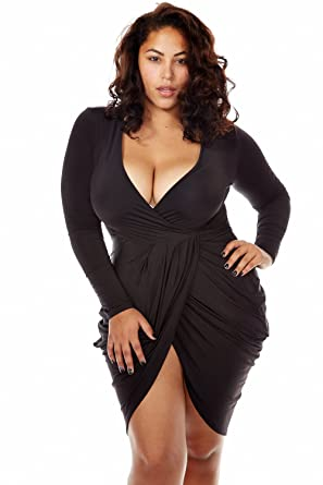 Sexy clubwear for plus size women