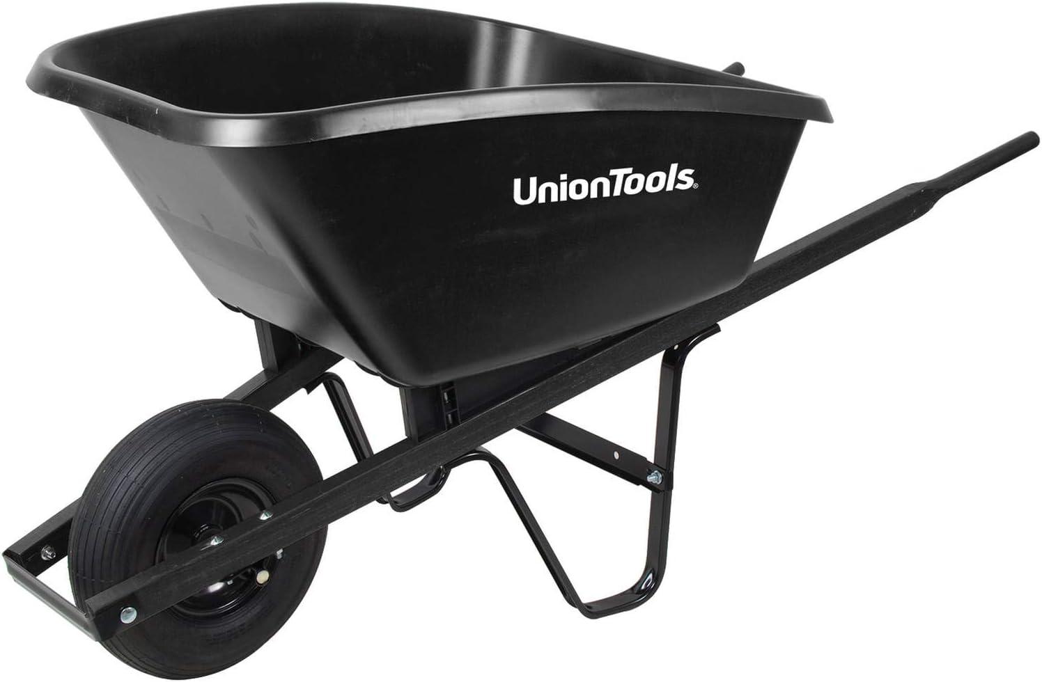 【UnionTool】一輪車 5cf ポリーバロウ SP5 True Temper アメリカ 140L ガーデニング