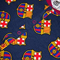 FC Barcelona Official Soccer Gift Boys Kids Pajama Onesie