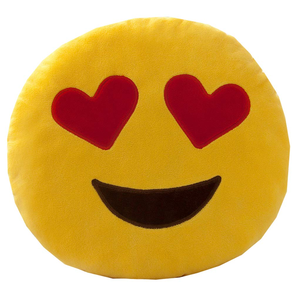 Amazon.com: Funny Pillow Portable Headrest Emoji Pillow ...