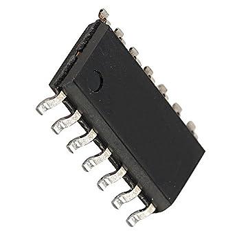 LM324D SMD Quad Op Amplificador Operativo IC (2 unidades ...