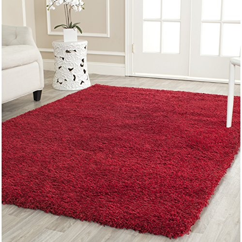 Safavieh California Shag Collection 8' x 10' Area Rug, Red
