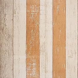 SICOHOME Peel Stick Wallpaper,11 Yards,Orange