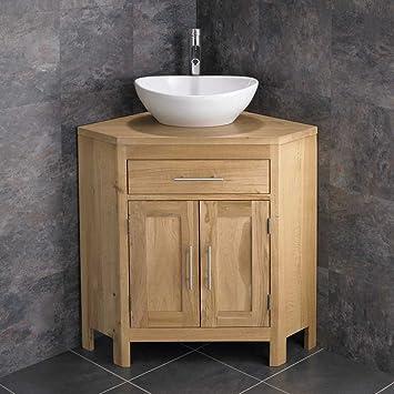 Badezimmer eckschrank  Alta Waschbeckenunterschrank / Badezimmer-Eckschrank, mit ...