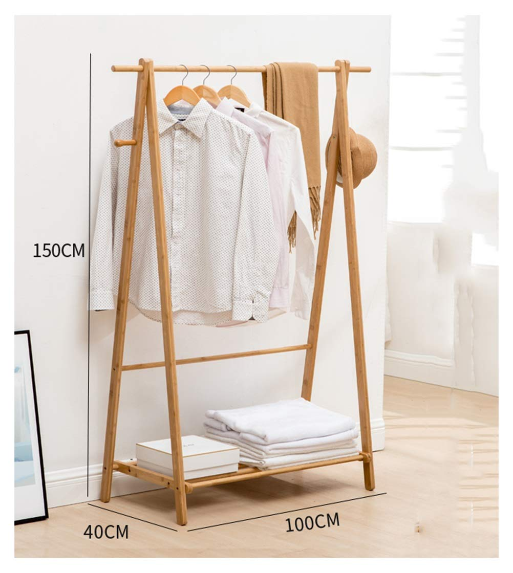 100150cm WYQSZ Coat Rack - Easy to Assemble Creative Hangers Household Hangers Living Room Coat Rack Floor Racks - Coat Rack 8563 (Size   80  150CM)
