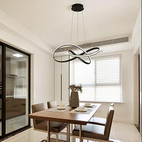 Lámpara colgante LED lámpara colgante creativa de acrílico ...