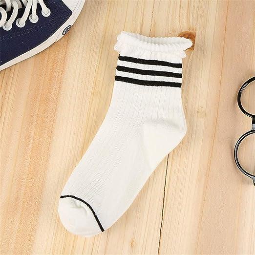 Mebeauty-sock Calcetines de algodón para Mujer 10 Pares de ...