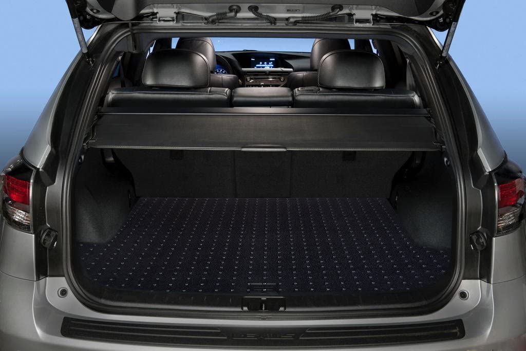 2011 2013 2014 PUREMATS Cargo//Trunk Mat Accessories Compatible with BMW 528i 2016 All Weather 2012 2015 Heavy Duty - Made in USA - Crystal Clear