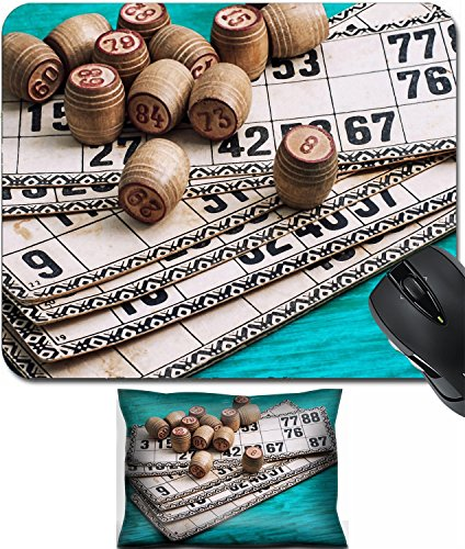 - MSD Mouse Wrist Rest and Small Mousepad Set, 2pc Wrist Support design 35530956 traditional legacy of the ancient Board game Lotto on wooden background