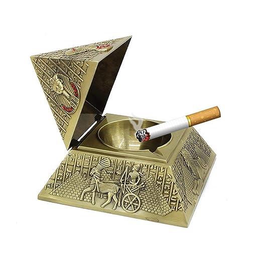 Hamr 26 Artesanías Decoración Pirámide Cigarro Cenicero Cigarrillo ...