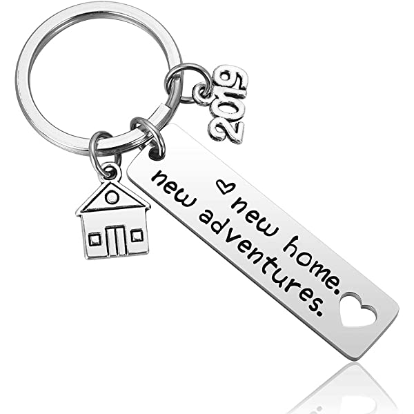 Amazon.com: New Home Keychain 2019 Housewarming Gift for New ...