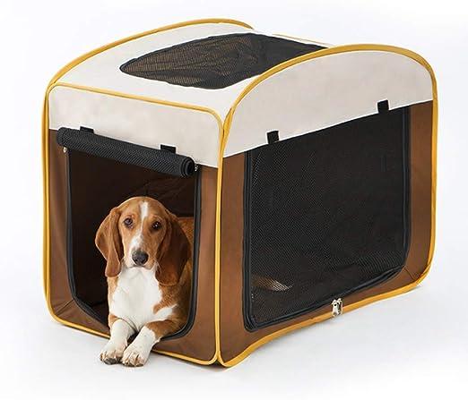 Adelaide Jaula para Perros, Perrera De Coche, Bolsas De Mascotas Portátiles, Portador De Mascotas De Viaje: Amazon.es: Productos para mascotas