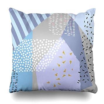 Magnificent Amazon Com Gisruru Throw Pillow Covers Gold Watercolor Line Creativecarmelina Interior Chair Design Creativecarmelinacom