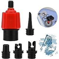 XCOZU Båt luftventil adapterkit, båtventiladapter Dinghy uppblåsaradapter, SUP-pump kanot luftpump omvandlare för att…