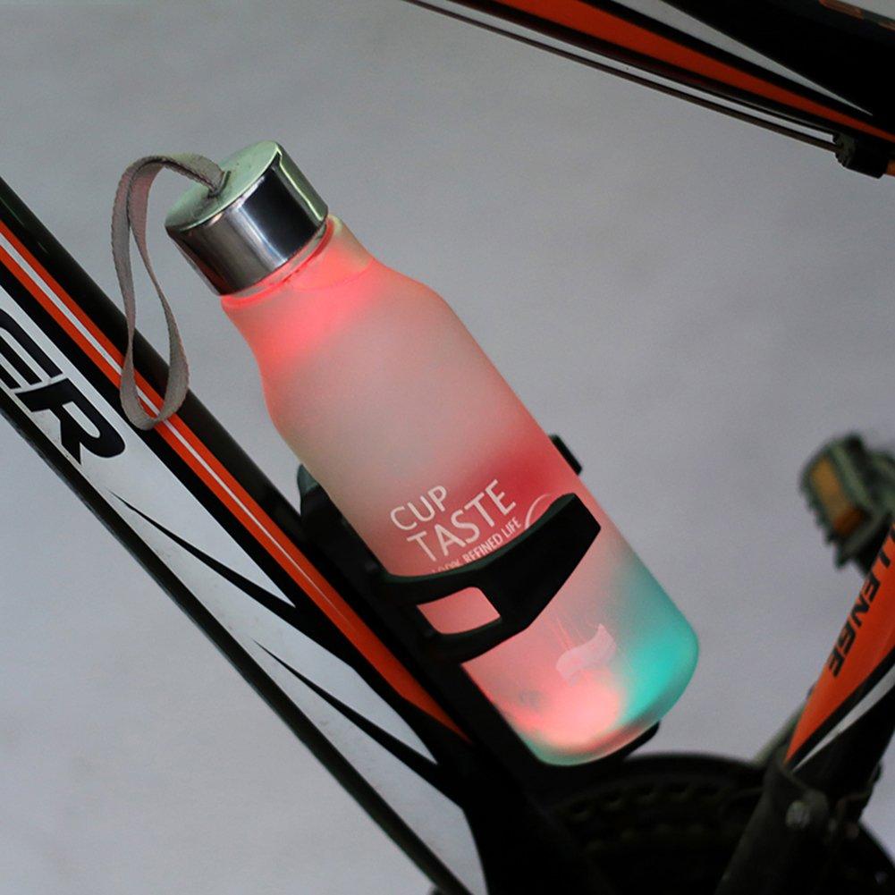 West ciclismo, seguro sistema de retención, ligero y fuerte bicicleta botella jaula, rápido y fácil de montar, Ideal para carretera y bicicletas de montaña, ...