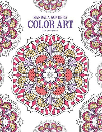 Mandala Wonders | Color Art for Everyone - Leisure Arts (6765) by Leisure Arts (2015-09-17)