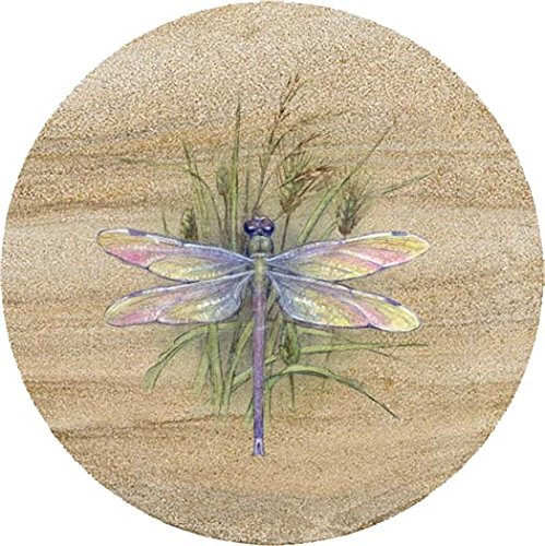 Thirstystone Sandstone Trivet Dragonfly ()