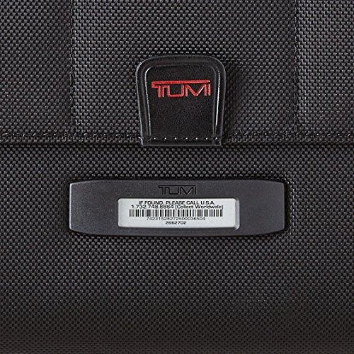 """Tumi Alpha 2, Porte-documents de Luxe à 4 roues avec Étui pour Ordinateur 17"""", Noir - 026627D2"""